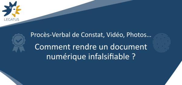 Comment rendre un document numérique infalsifiable ?