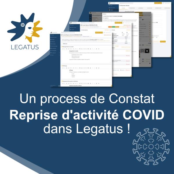 Nous avons développé un process de Constat de reprise d'activité COVID !